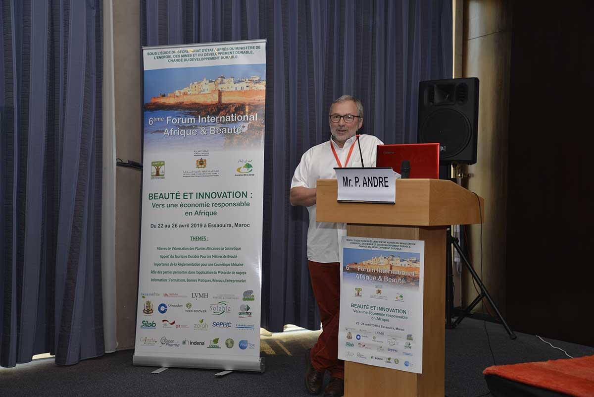 M. Patrice ANDRE (Vice-Président du FIAB 2019)