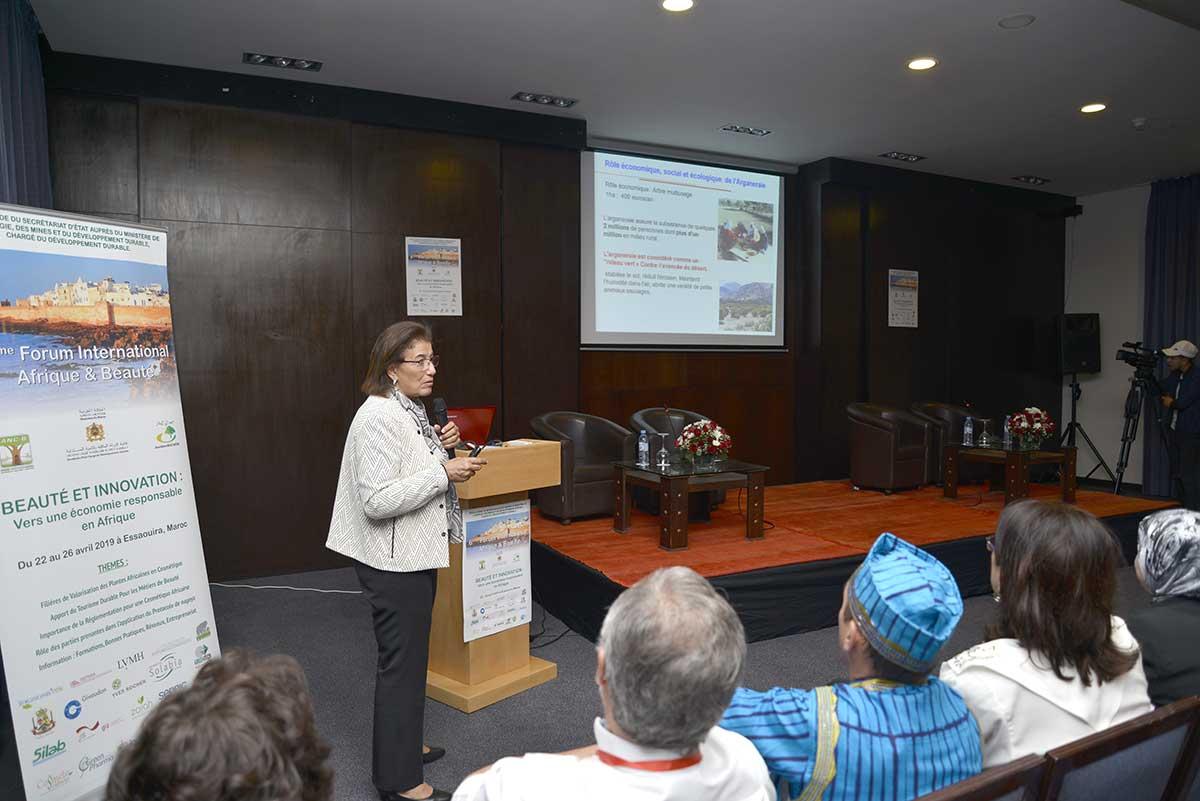 Prof. Zoubida CHARROUF (Présidente du FIAB 2019)